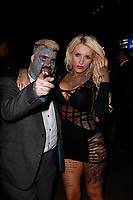 LONDON, ENGLAND - NOVEMBER 09 :  King Of Ink and Nevaeh Heaven attend The Paul Raymond Awards 2017, at the Cafe de Paris on November 09, 2017 in London, England.<br /> CAP/AH<br /> &copy;Adam Houghton/Capital Pictures