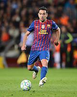 FUSSBALL   CHAMPIONS LEAGUE  HALBFINAL-RUECKSPIEL   2011/2012      FC Barcelona - FC Chelsea       24.04.2012 Xavi Hernandez (Barca)
