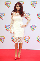 Amy Childs arriving for the Health Lottery Tea Party, The Savoy, London. 02/06/2014 Picture by: Alexandra Glen / Featureflash
