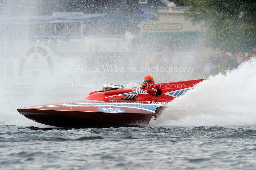 "Marv Hart, 222 ""Candiana Grand Prix"" (1964 Longtin Grand Prix class hydroplane)"