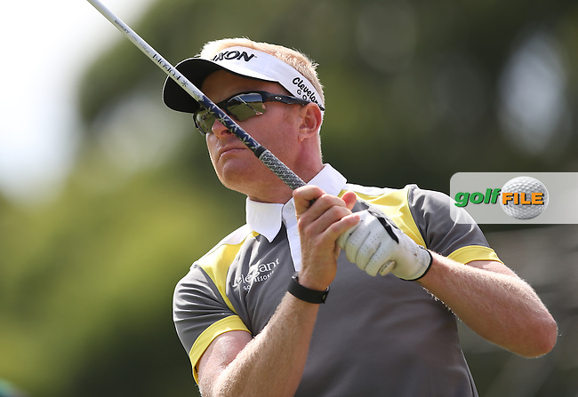 Simon Dyson (ENG) produced an aggressive 66 during Round Two of the Africa Open 2015 at the East London Golf Club, East London, Eastern Cape, South Africa. Picture:  David Lloyd / www.golffile.ie. 06/03/2015