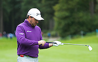 Graeme McDowell of Northern Ireland during a Pro-Am round ahead of the 2015 British Masters at the Marquess Course, Woburn, in Bedfordshire, England on 7/10/15.<br /> Picture: Richard Martin-Roberts   Golffile