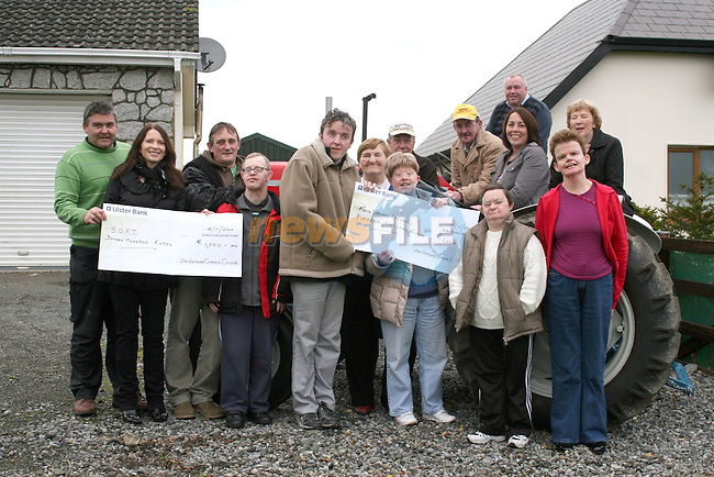 Maxine Williams and Thomas Murray of Malta Services Drogheda with Angela Boylan, Ann Whearty, Arianne Gannon, Christy Carroll, Rita McAuley and Gerald Traynor, Terry and Geraldine Matthews of S.O.F.T  and members of Dee Vintage Club at the cheque presentation from Dee Vintage Club who raised money for S.O.F.T., Malta Services Drogheda, and Arthritis Ireland....Photo NEWSFILE/Jenny Matthews.(Photo credit should read Jenny Matthews/NEWSFILE)....This Picture has been sent you under the condtions enclosed by:.Newsfile Ltd..The Studio,.Millmount Abbey,.Drogheda,.Co Meath..Ireland..Tel: +353(0)41-9871240.Fax: +353(0)41-9871260.GSM: +353(0)86-2500958.email: pictures@newsfile.ie.www.newsfile.ie.FTP: 193.120.102.198.