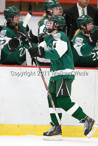Kelly Foley (Dartmouth - 4) - The visiting Dartmouth College Big Green defeated the Harvard University Crimson 3-2 on Wednesday, November 23, 2011, at Bright Hockey Center in Cambridge, Massachusetts.
