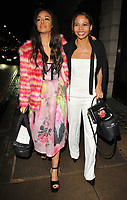 Sarah-Jane Crawford and Emma McQuiston at the Wellness Awards 2018, BAFTA, Piccadilly, London, England, UK, on Thursday 01 February 2018.<br /> CAP/CAN<br /> &copy;CAN/Capital Pictures