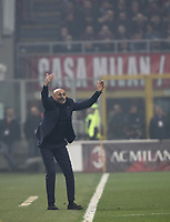 Calcio, Serie A: AC Milan - Inter Milan, Giuseppe Meazza (San Siro) stadium, Milan on 17 March 2019.  <br /> Inter's coach Luciano Spalletti gestures during the Italian Serie A football match between Milan and Inter Milan at Giuseppe Meazza stadium, on 17 March 2019. <br /> UPDATE IMAGES PRESS/Isabella Bonotto