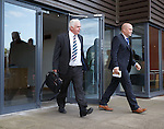 James Don Blair and Ricki Neill emerge from Albion House