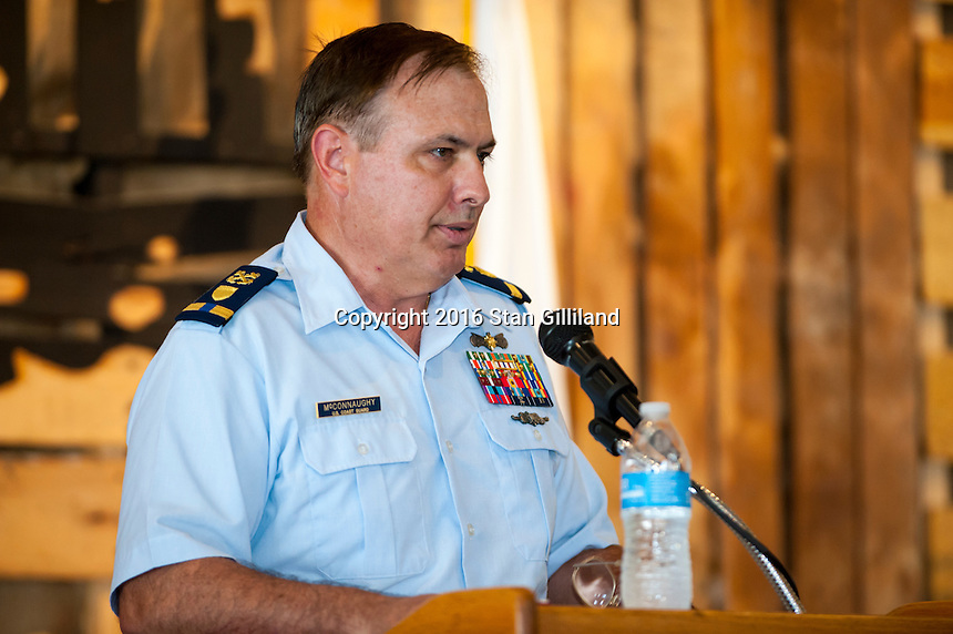 Ed McConnaughy Retirement<br /> 30 plus years in Coast Guard<br /> O'Connor Brewing Company<br /> Norfolk, VA<br /> Friday August 12, 2016