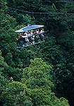 aerial tram in the Morne Trois pitons national park<br />