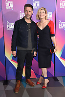"Paddy Considine and Jodie Whittaker<br /> arriving for the London Film Festival 2017 screening of ""Journeyman"" at Picturehouse Central, London<br /> <br /> <br /> ©Ash Knotek  D3333  12/10/2017"
