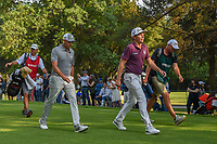 Sergio Garcia (ESP)  and Cameron Smith (USA) make their way down 18 during round 4 of the World Golf Championships, Mexico, Club De Golf Chapultepec, Mexico City, Mexico. 2/24/2019.<br /> Picture: Golffile | Ken Murray<br /> <br /> <br /> All photo usage must carry mandatory copyright credit (© Golffile | Ken Murray)