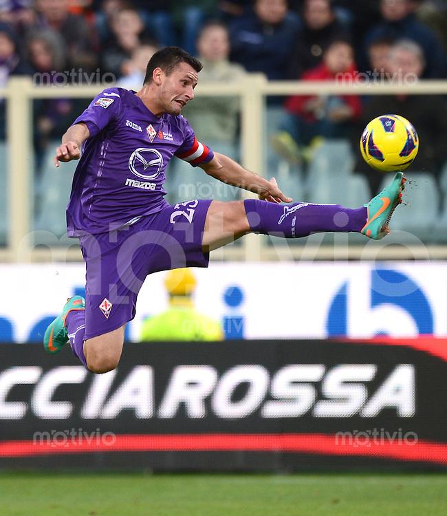 FUSSBALL INTERNATIONAL   SERIE A   SAISON 2012/2013    AC Florenz - Atalanta   18.11.2012 Pasqual Manuel (AC Florenz)