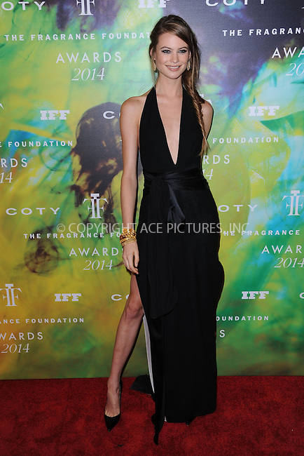 WWW.ACEPIXS.COM<br /> June 16, 2014 New York City<br /> <br /> Behati Prinsloo attending the 2014 Fragrance Foundation Awards on June 16, 2014 in New York City.<br /> <br /> Please byline: Kristin Callahan/AcePictures<br /> <br /> ACEPIXS.COM<br /> <br /> Tel: (212) 243 8787 or (646) 769 0430<br /> e-mail: info@acepixs.com<br /> web: http://www.acepixs.com