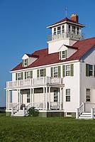 Coast Guard Station house, Coast Guard Beach, Eastham, Cape Cod, Massachusetts, USA