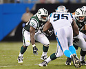 JOHN CONNER, of the New York Jets in action during the Jets game against the Carolina Panthers  at Bank of America Stadium in Charlotte, N.C.  on August 21, 2010.  The Jets beat the Panthters 9-3 in the second week of preseason games...