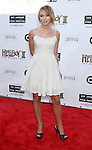 """Actress Lauren McKnight  arrives at the 2008 Los Angeles Film Festival's """"HellBoy: II The Golden Army"""" Premiere at the Mann Village Westwood Theater on June 28, 2008 in Westwood, California."""