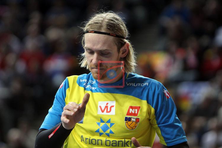 Bjorgvin Pall Gustavsson. ICELAND vs FRANCE: 28-30 - Eighth-Final.