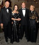 Honorees Isaac Arnold, Cornelia Long, Alfred C. Glassell III and  Isabel Wilson at the Silver Ball at the Museum of Fine Arts Friday Oct. 10,2008. (Dave Rossman/For the Chronicle)