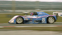 The #8 Chevrolet Hawk C-8 of Henry Camferdam, Roger Mandeville, Bill Auberlen, and Tony Kester races to a 30 th place finish in the 24 Hours of Daytona, IMSA race, Daytona International Speedway, Daytona Beach , FL, February 4, 1996.  (Photo by Brian Cleary/www.bcpix.com)