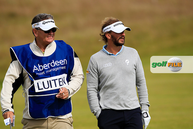 Joost Luiten (NED) during the first round of the Aberdeen Asset Management Scottish Open 2016, Castle Stuart  Golf links, Inverness, Scotland. 07/07/2016.<br /> Picture Fran Caffrey / Golffile.ie<br /> <br /> All photo usage must carry mandatory copyright credit (&copy; Golffile | Fran Caffrey)