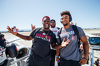 San Jose, CA - September  12, 2019:  Stanford Football travels to Orlando for its game at UCF.