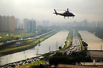 Helicopters in Sao Paulo