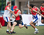 Swire Properties vs Norton Rose Fulbright during Swire Touch Tournament on 03 September 2016 in King's Park Sports Ground, Hong Kong, China. Photo by Marcio Machado / Power Sport Images