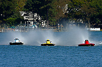 Kevin Gunther, T-16, Courtney Stewart, T-720, Richard Shaw, T-2        (1.5 Litre Stock hydroplane(s)