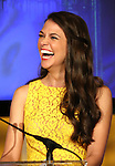 Sutton Foster announces the 2013 Tony Award Nominations at The New York Public Library for Performing Arts in New York on 4/30/2013...
