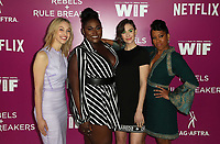 LOS ANGELES, CA - MAY 12: Sarah Gadon, Danielle Brooks, Alison Brie, Regina King, at Netflix - Rebels And Rules Breakers For Your Consideration Event at Netflix FYSee Space At Raleigh Studios in Los Angeles, California on May 12, 2018. <br /> CAP/MPI/FS<br /> &copy;FS/MPI/Capital Pictures