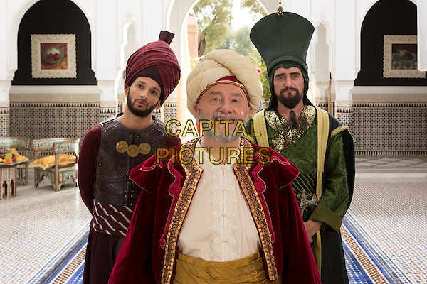 Les nouvelles aventures d'Aladin (2015) <br /> Jean-Paul Rouve, Michel Blanc, William Lebghil<br /> *Filmstill - Editorial Use Only*<br /> CAP/KFS<br /> Image supplied by Capital Pictures