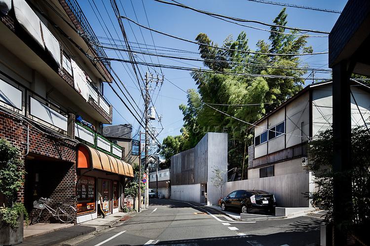 Tokyo, July 13 2011 - Inokashira House by Studio NOA.