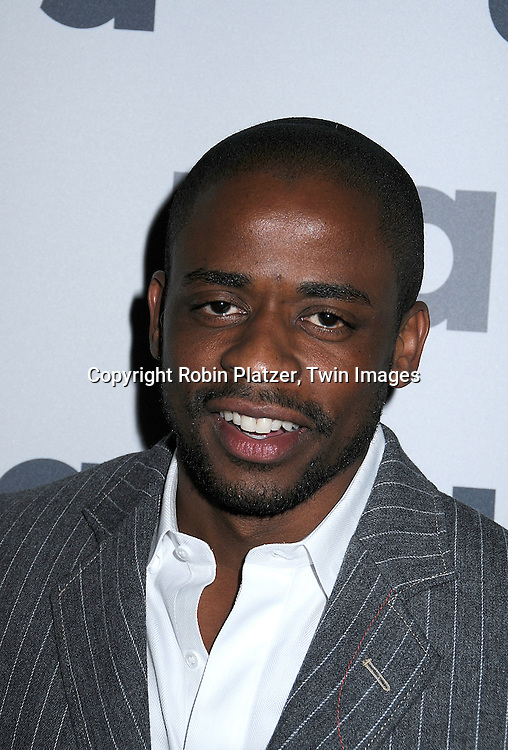 "Dule Hill of "" Psych"".posing for photographers at The USA Network Upfront.on March 26, 2008 at The Modern. ..Robin Platzer, Twin Images"