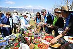 Santa Barbara Ukulele Club pot luck at the Harbor