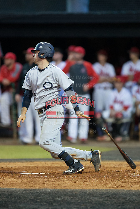 at Abbey Yard on February 7, 2017 in Belmont, North Carolina.  The Crusaders defeated the Indians 12-9.  (Brian Westerholt/Four Seam Images)