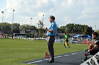 Kansas City, MO - Sunday August 28, 2016: Huw Williams during a regular season National Women's Soccer League (NWSL) match between FC Kansas City and the Boston Breakers at Swope Soccer Village.