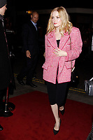LONDON, ENGLAND - FEBRUARY 09 :  Ellie Bamber arrives at the Charles Finch and Chanel pre-BAFTA party at Loulou's on February 09, 2019 in London, England.<br /> CAP/AH<br /> &copy;Adam Houghton/Capital Pictures