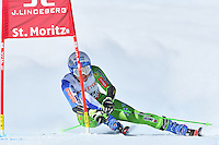 February 16, 2017: Ilka STUHEC (SLO) competing in the women's giant slalom event at the FIS Alpine World Ski Championships at St Moritz, Switzerland. Photo Sydney Low