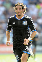 San Jose forward Alan Gordon (16),.. Sporting Kansas City defeated San Jose Earthquakes 2-1 at LIVESTRONG Sporting Park, Kansas City, Kansas.