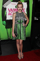 """LOS ANGELES, CA - FEBRUARY 04: Peyton List at the Los Angeles Premiere Of The Weinstein Company's """"Vampire Academy"""" held at Regal Cinemas L.A. Live on February 4, 2014 in Los Angeles, California. (Photo by Xavier Collin/Celebrity Monitor)"""