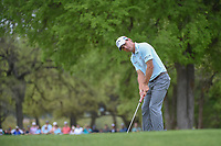 Kevin Kisner (USA) watches his putt on 1 during day 5 of the World Golf Championships, Dell Match Play, Austin Country Club, Austin, Texas. 3/25/2018.<br /> Picture: Golffile | Ken Murray<br /> <br /> <br /> All photo usage must carry mandatory copyright credit (&copy; Golffile | Ken Murray)