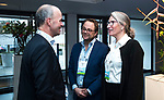 BUSSUM - NVG / NGF/ PGA congres 2018. The drive to happiness.  Sanne Rozema, Dirk-Jan Vink, joost Hage.  COPYRIGHT KOEN SUYK