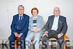 Some of the octogenarians who attended the St Crohans School Reunion at the weekend in Caherdaniel were l-r; Joseph White, Maureen O'Donoghue & Timmy Clifford.