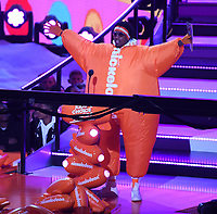 LOS ANGELES, CA - MARCH 24: Nick Cannon appears on the Nickelodeon Kids Choice Awards 2018 at The Forum on March 24, 2018 in Los Angeles, California. (Photo by Frank Micelotta/PictureGroup)