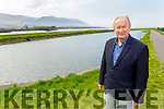 Cllr: Jim Finucane (Mayor of Tralee) pictured in Blennerville on Friday.