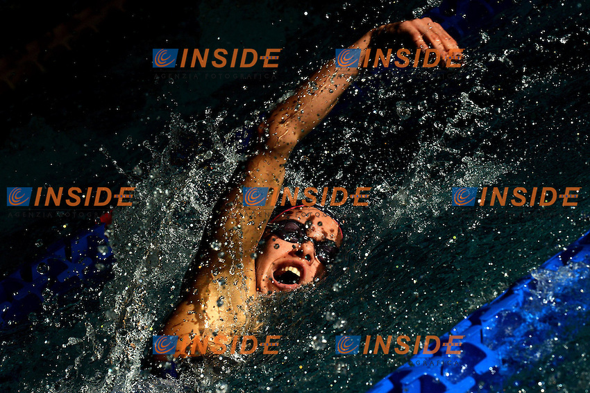 Martina Caramignoli Aurelia Nuoto 400m Stile Libero Donne Freestyle .Riccione 20/12/2012 Piscina Comunale .Campionati Italiani Asssoluti Invernali Open Nuoto Riccione 2012  .Foto Andrea Staccioli Insidefoto