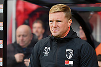 AFC Bournemouth Manager Eddie Howe during AFC Bournemouth vs Arsenal, Premier League Football at the Vitality Stadium on 25th November 2018