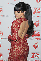 NEW YORK, NY - FEBRUARY 07: Becky G attends The American Heart Association's Go Red For Women Red Dress Collection 2019 Presented By Macy's at Hammerstein Ballroom on February 7, 2019 in New York City.     <br /> CAP/MPI/GN<br /> ©GN/MPI/Capital Pictures