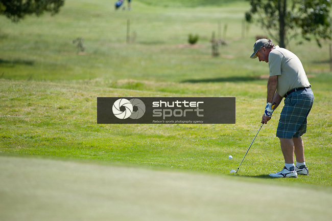 Golf 36 Hole R2, SI Masters Games, 21 October 2011, Nelson, New Zealand<br /> Photo: David Chadwick/shuttersport.co.nz