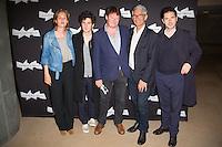 JUSTINE TRIET, VINCENT LACOSTE, FREDERIC BONNAUD, CHARLES TESSON, MELVIL POUPAUD - PROJECTION DU FILM 'VICTORIA' A LA CINEMATHEQUE FRANCAISE A L'OCCASION DE LA REPRISE DE LA SELECTION CANNOISE DE LA SEMAINE DE LA CRITIQUE